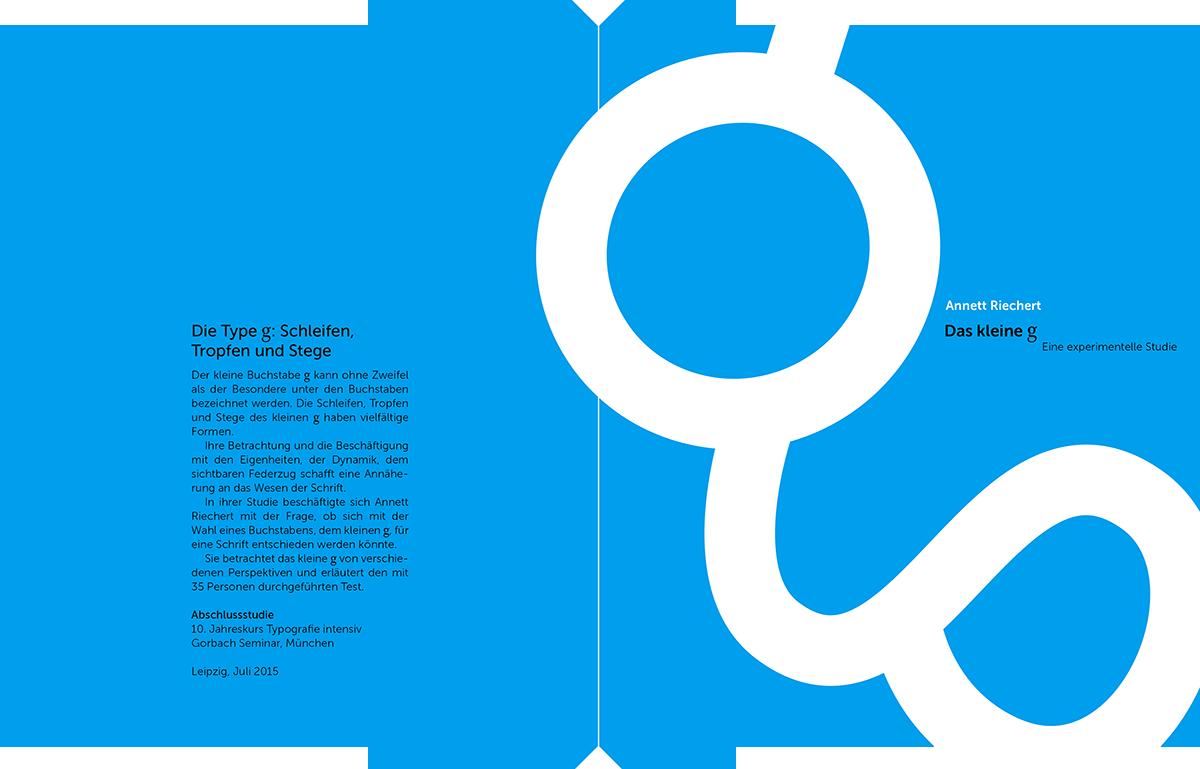 Riechert: Studie Kleines G, Umschlag