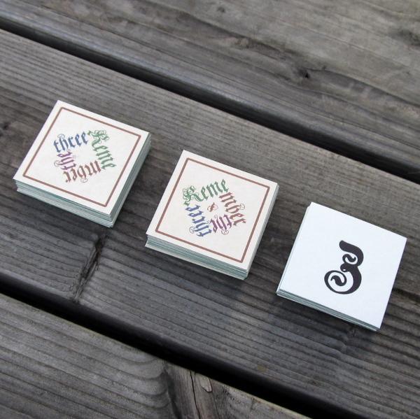 Remember the three, ein Spiel mit 48 Karten
