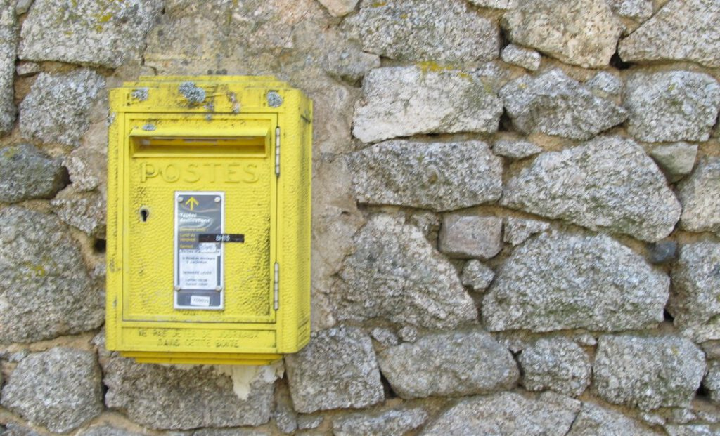 Briefkasten in Frankreich