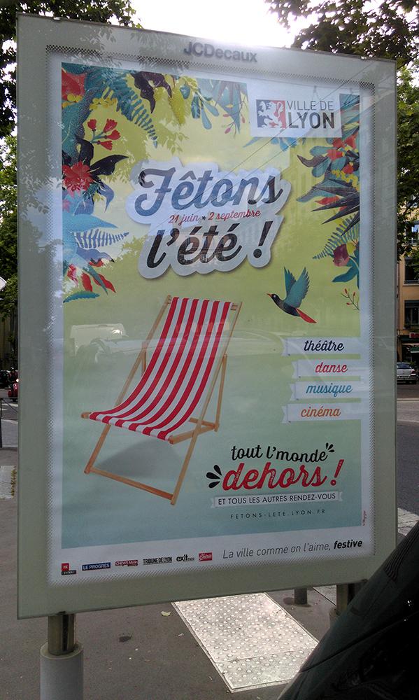 Poster, Affiche, Lyon, 11