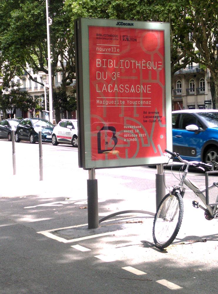Poster, Affiche, Lyon, 2