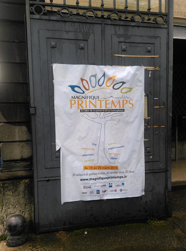 Poster, Affiche, Lyon, 5