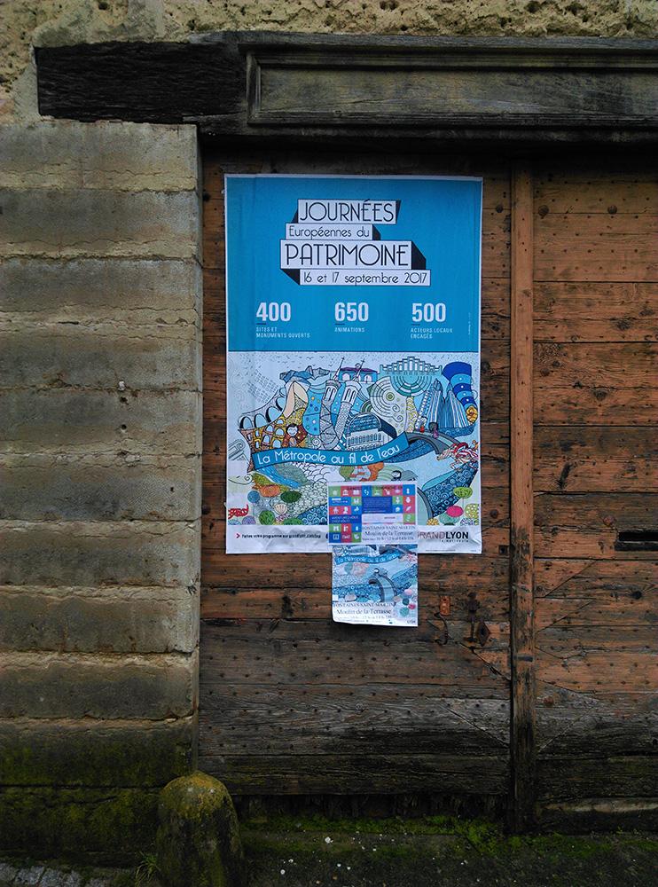 Poster, Affiche, Lyon, 6