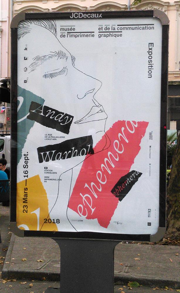 Poster, Affiche, Lyon, 8