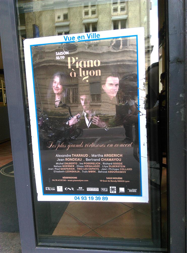 Poster, Affiche, Lyon, 9