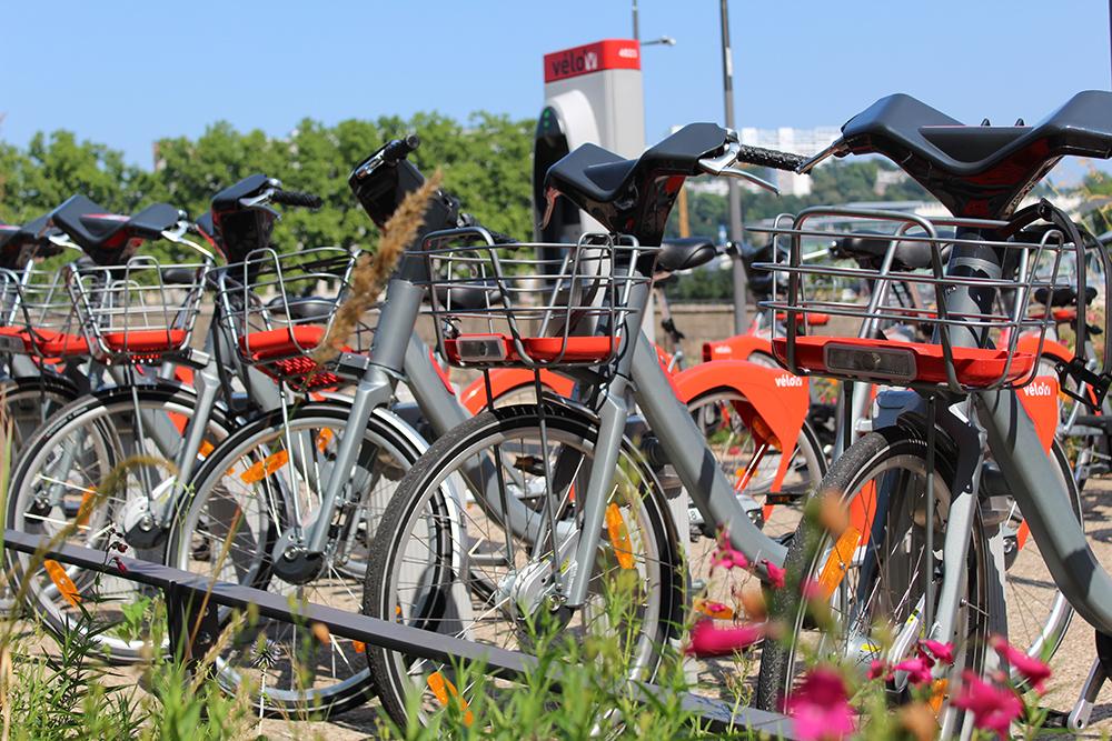 Leihstation für Fahrräder