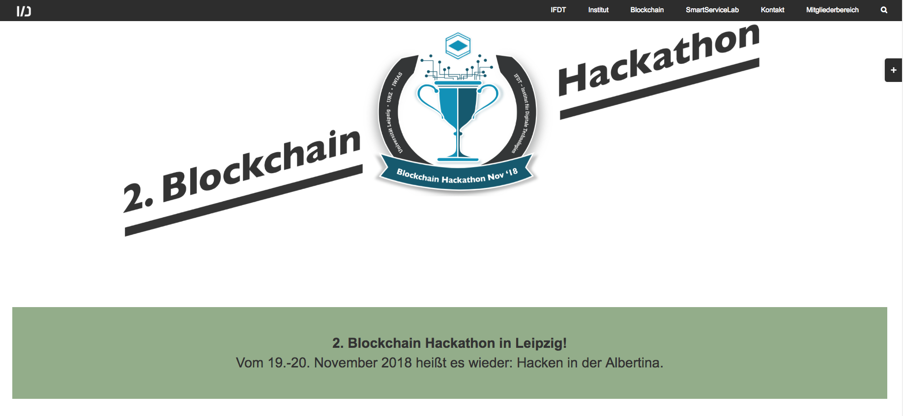 Screenshot des Badges