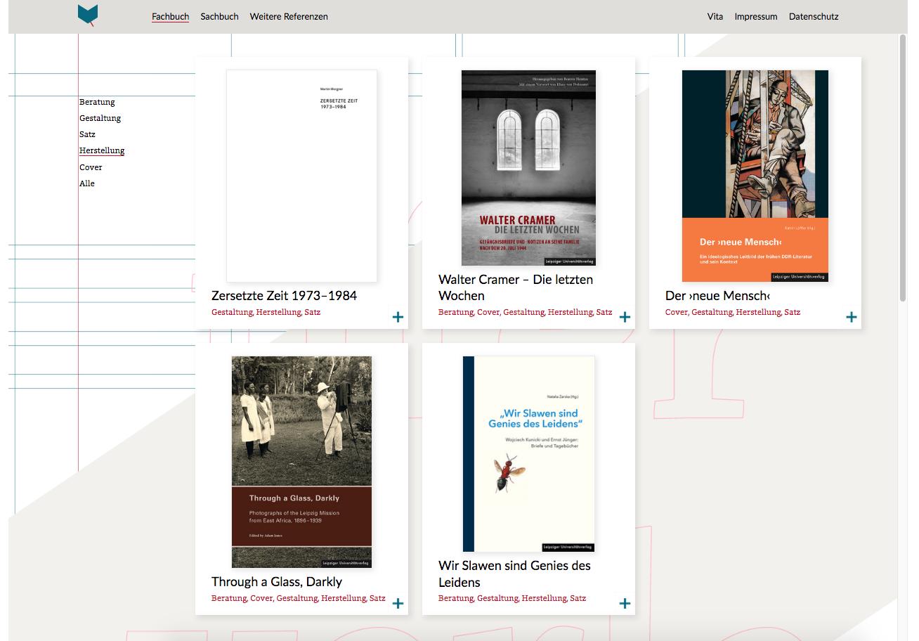 ufer-verlagsherstellung WordPress Design: Annett Riechert Ref 4