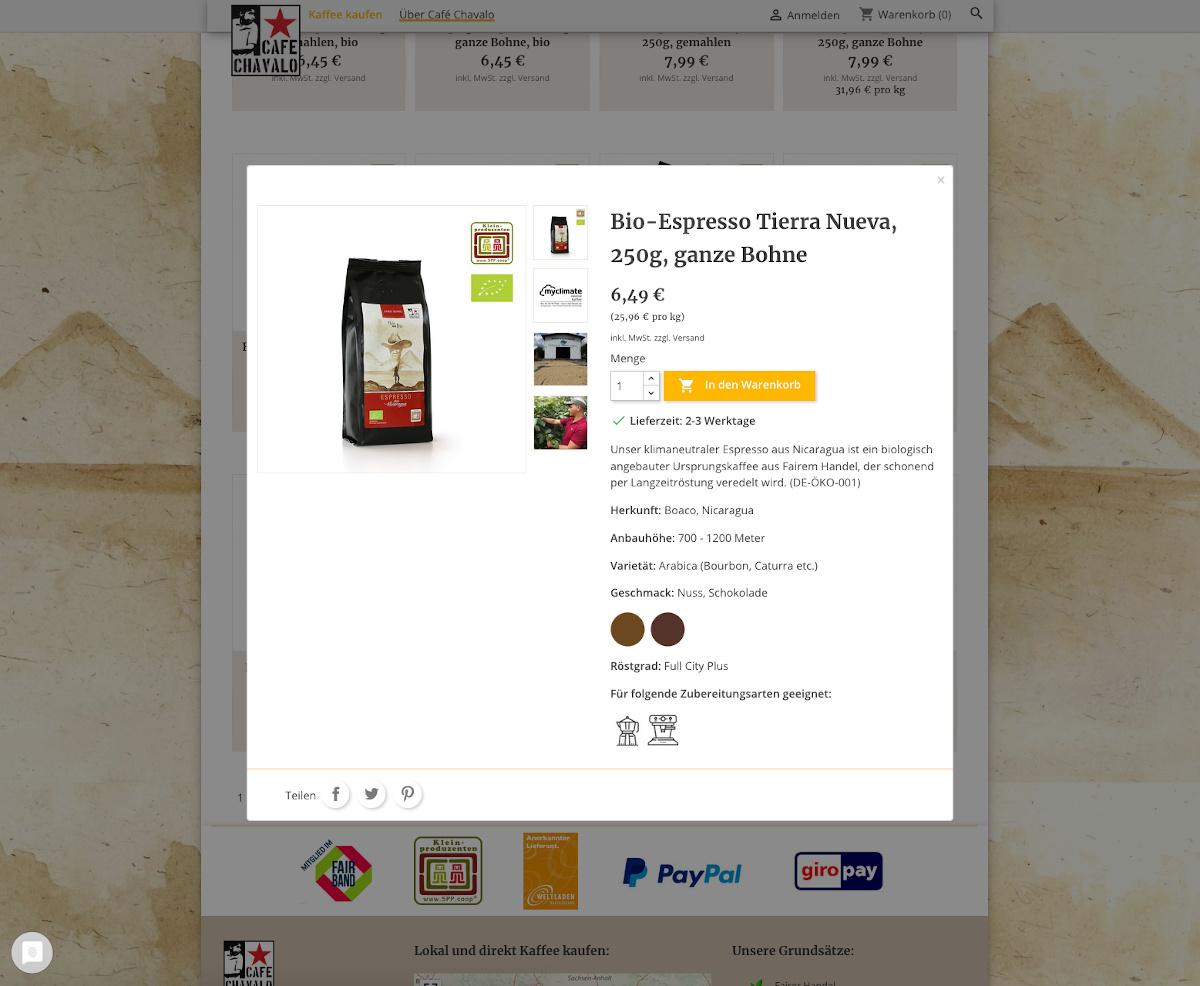Screenshot-Schnellansicht-Segelkaffee-Prestashop-Cafe-Chavalo-Segelkaffee-20210128